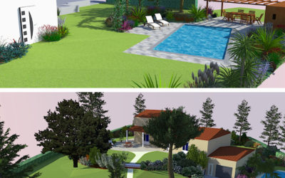 greenfrog_garden_design_paysagiste_amenagement_3D_image_piscine_maison_vivace_arbustes_dénivelé_jardin_talusvegetalise_hautegaronne_garden_occitanie_gardendesign_dessin_